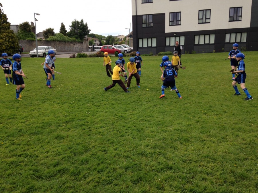 St Audoen's Hurling vs St. Clare's Harolds Cross May 2014