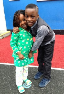 Maleek and his sister Muyebat