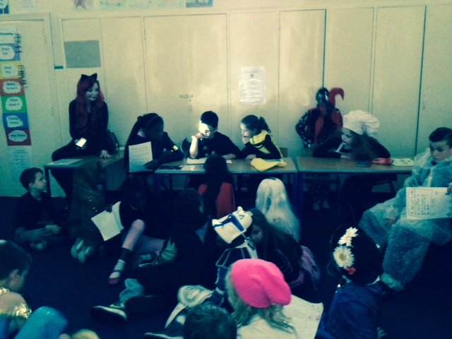 Halloween in 5th Class