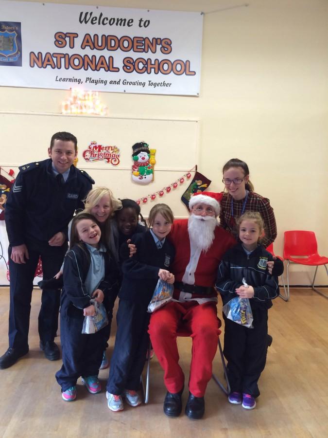 Garda Band & Santa Visit 2014