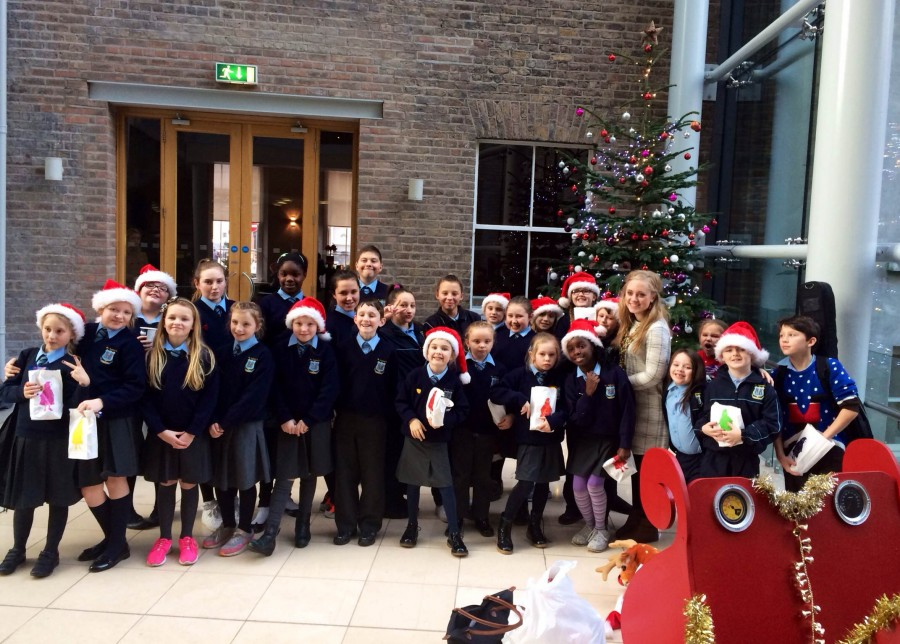 Carol Singing in ByrneWallace 2014