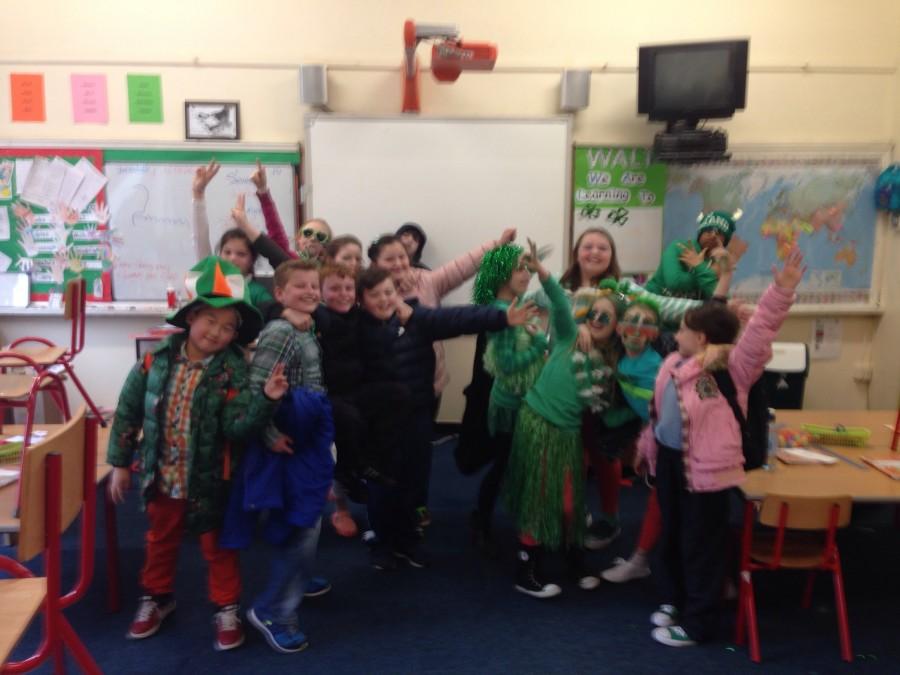 Happy Saint Patrick's Day from Room 8