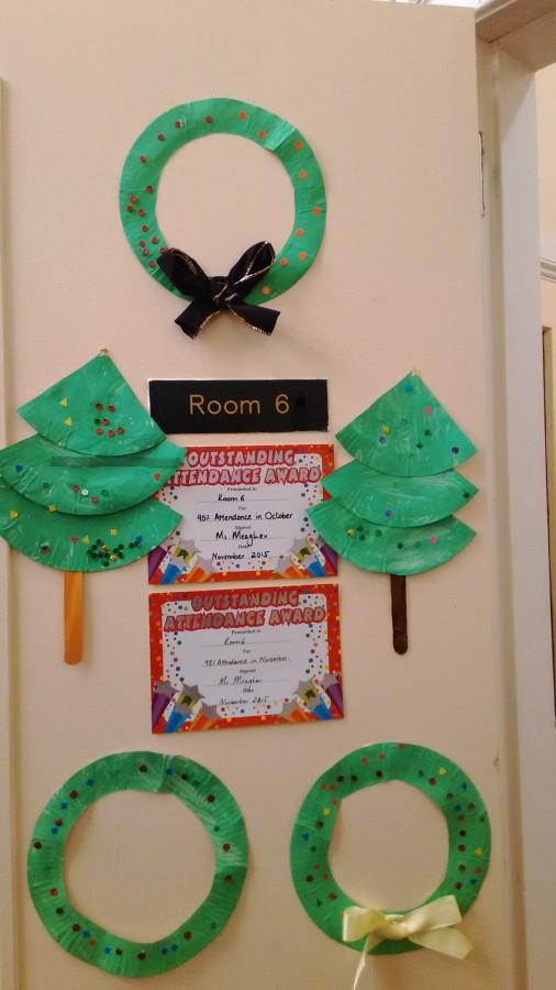 Christmas Art in Room 6