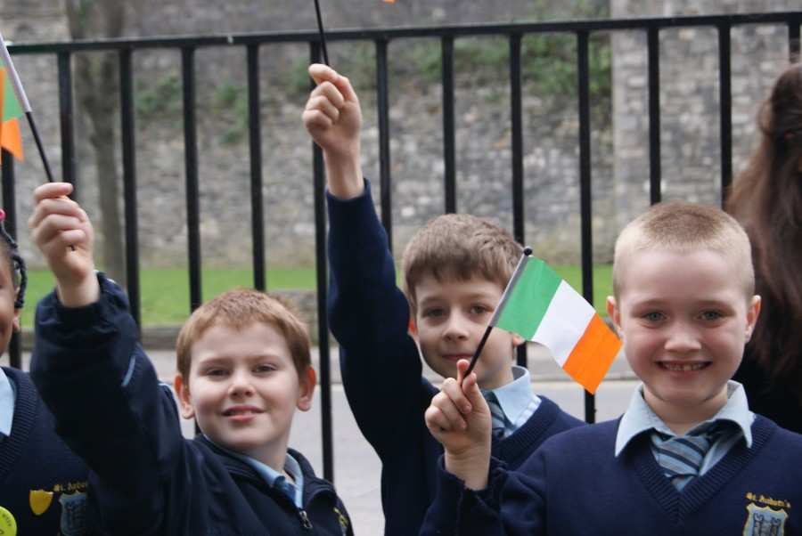 1916 Proclamation Day at St Audoen's