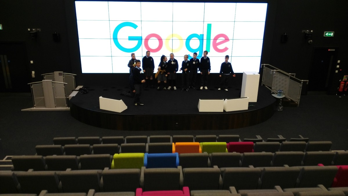 Dragons' Den with Google
