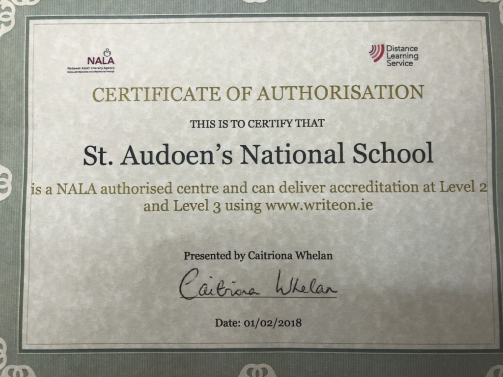 St Audoen's NS - A Centre For Adult Literacy