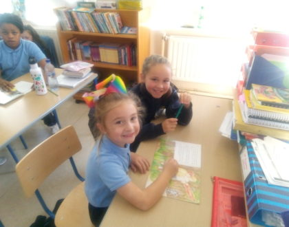 Paired Reading with 2nd class