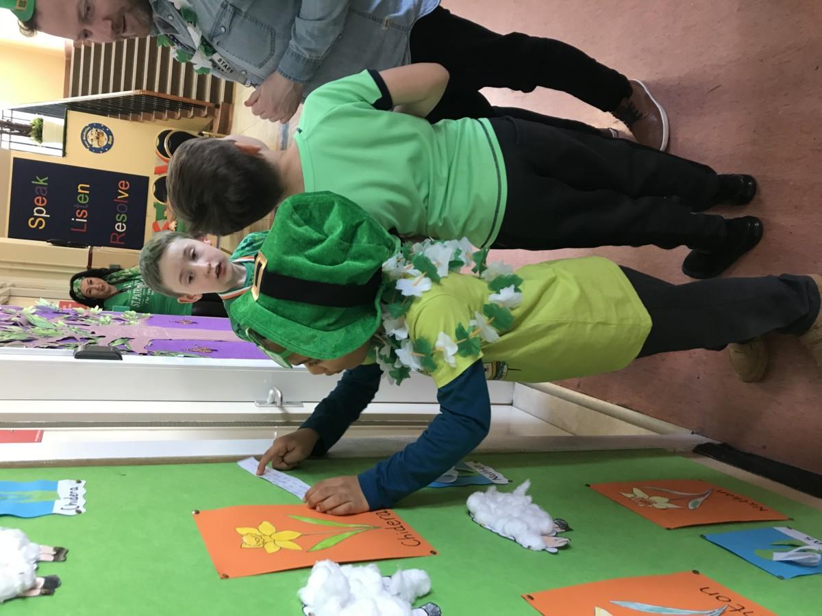 Seachtain na Gaeilge in Room 6