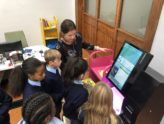 Library Visit For 4th Class